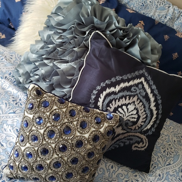 Pier 400 Imports Other 40 Decorative Blue Rhinestone Bling For Simple Rhinestone Decorative Pillows